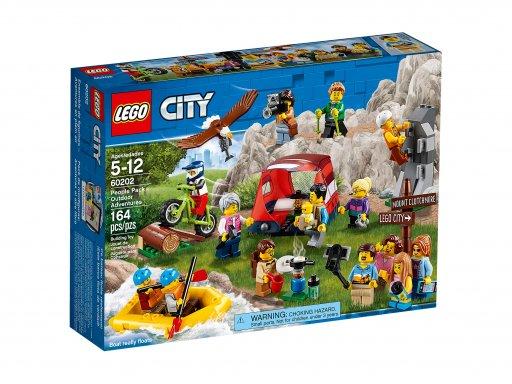 Opakowanie klocków Lego 60202 Niesamowite przygody
