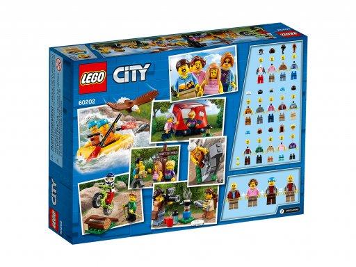 Opakowanie klocków Lego 60202 City Niesamowite przygody