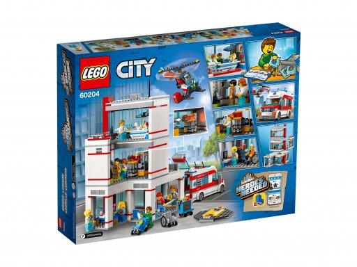 Opakowanie zestawu Lego 60204 City Szpital