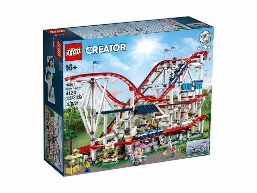 Opakowanie klocków Lego Creator Expert Kolejka górska 10261
