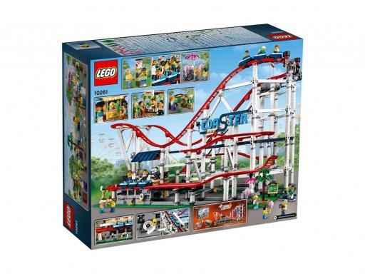 Opakowanie zestawu klocków Lego 10261 Kolejka górska
