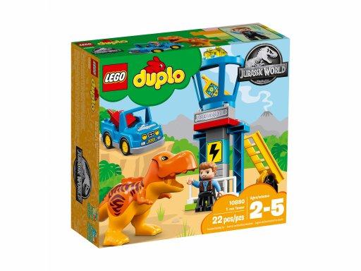 Opakowanie zestawu Lego Duplo® 10880 Wieża tyranozaura