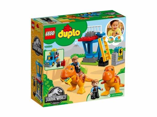 Opakowanie zestawu Lego Duplo® Wieża tyranozaura 10880