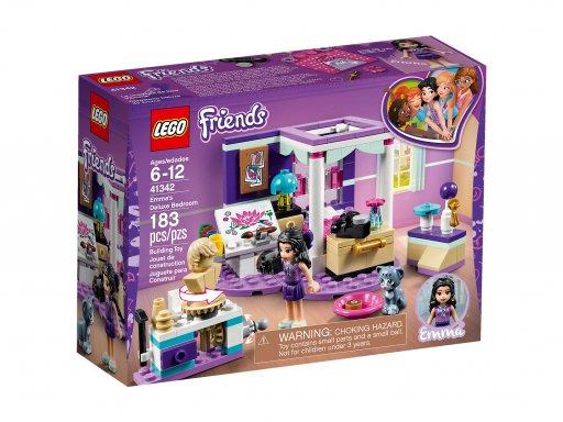Opakowanie zestawu Lego 41342 Sypialnia Emmy
