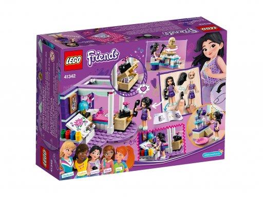 Opakowanie klocków Lego 41342 Friends Sypialnia Emmy