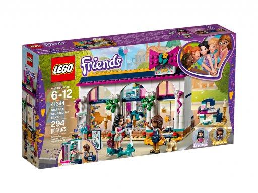 Opakowanie klocków Lego Friends 41344 Sklep z akcesoriami Andrei