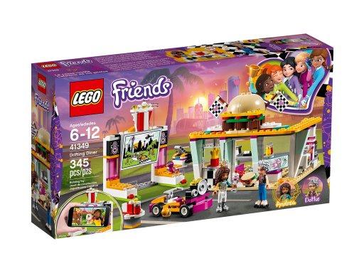Opakowanie klocków Lego 41349 Wyścigowa restauracja