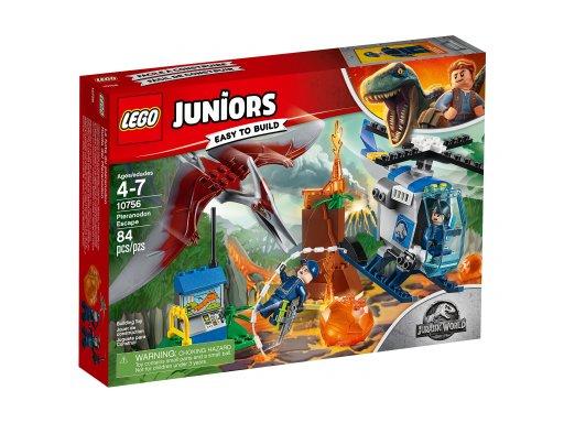 Opakowanie zestawu Lego Juniors Ucieczka przed pteranodonem