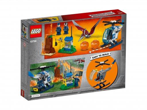 Opakowanie klocków Lego Juniors 10756 Ucieczka przed pteranodonem