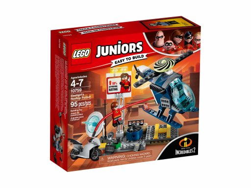 Opakowanie klocków Lego 10759 Pościg Elastyny