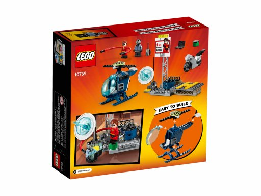 Opakowanie zestawu klocków Lego 10759 Pościg Elastyny