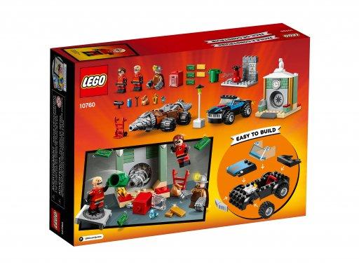 Opakowanie klocków Lego Juniors Napad Człowieka Szpadla na bank 10760