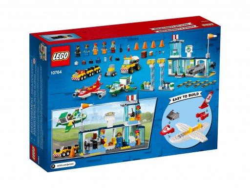 Opakowanie klocków Lego 10764 Juniors Lotnisko