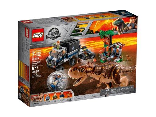 Opakowanie klocków Lego 75929 Jurassic World™ Ucieczka przed karnotaurem