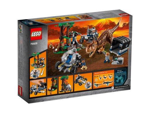 Opakowanie klocków Lego Jurassic World™ Ucieczka przed karnotaurem