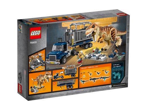 Opakowanie klocków Lego 75933 Transport tyranozaura