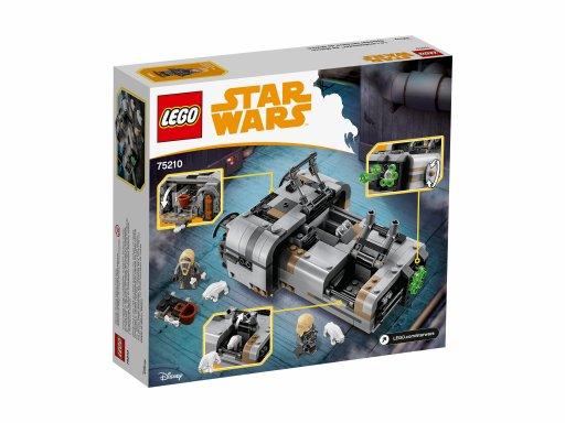 Opakowanie zestawu Lego 75210 Śmigacz Molocha™