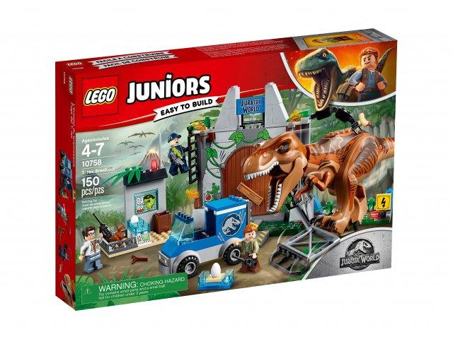Lego Juniors T. rex na wolności 10758