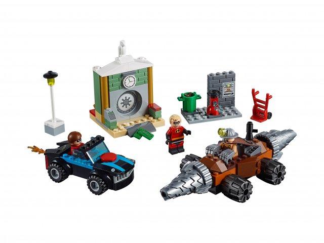 Lego 10760 Juniors Napad Człowieka Szpadla na bank