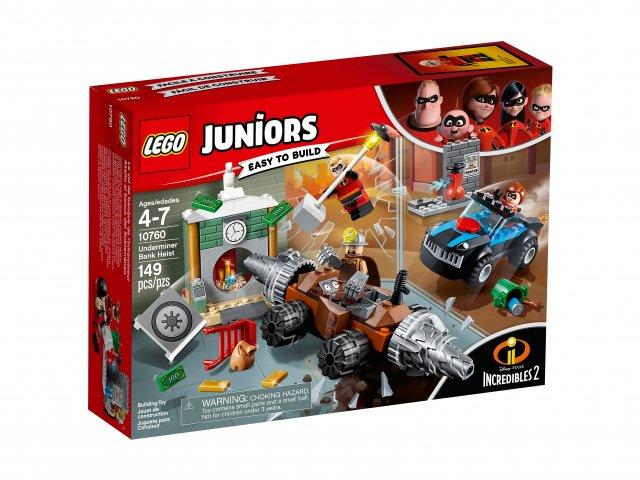 Lego Juniors Napad Człowieka Szpadla na bank
