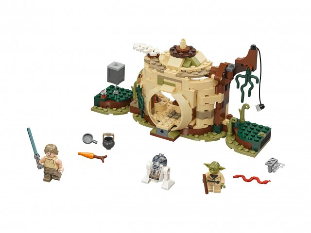 Lego Star Wars™ 75208 Chatka Yody
