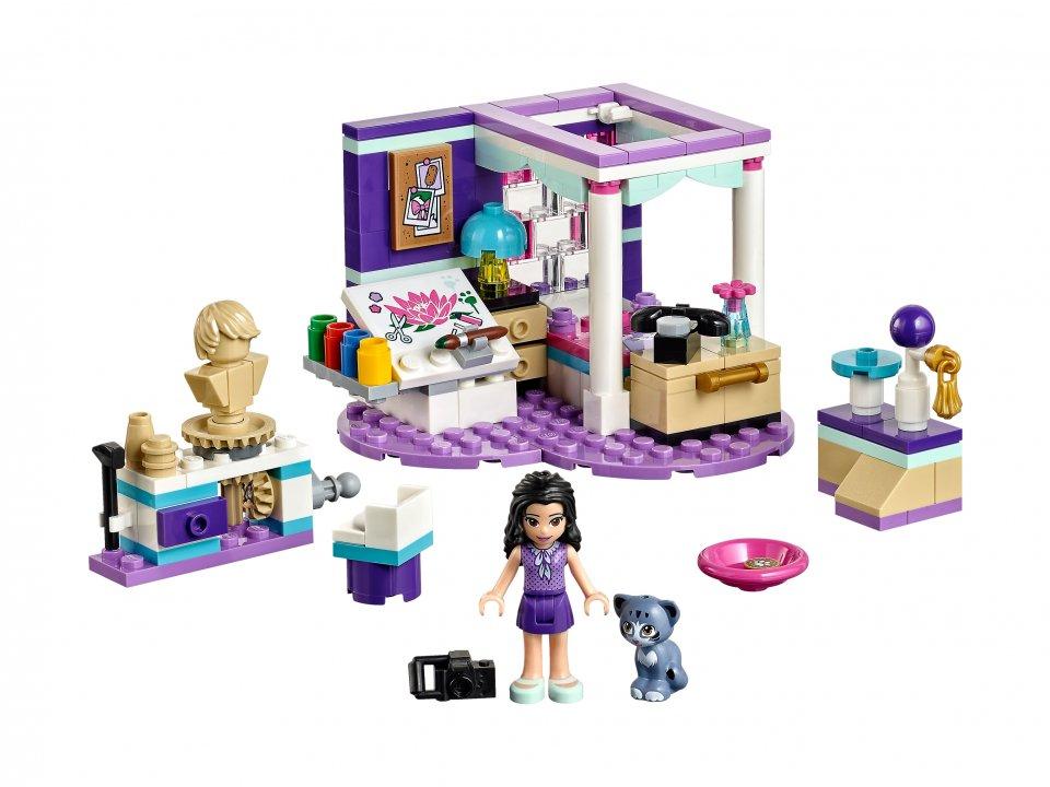 Lego Friends Sypialnia Emmy