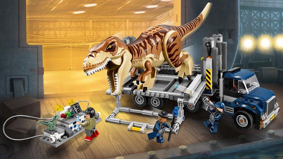 Lego Jurassic World™ Transport tyranozaura 75933